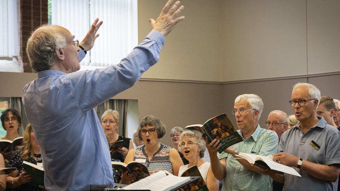 undefinedSinging Day with John Rutter July 2019