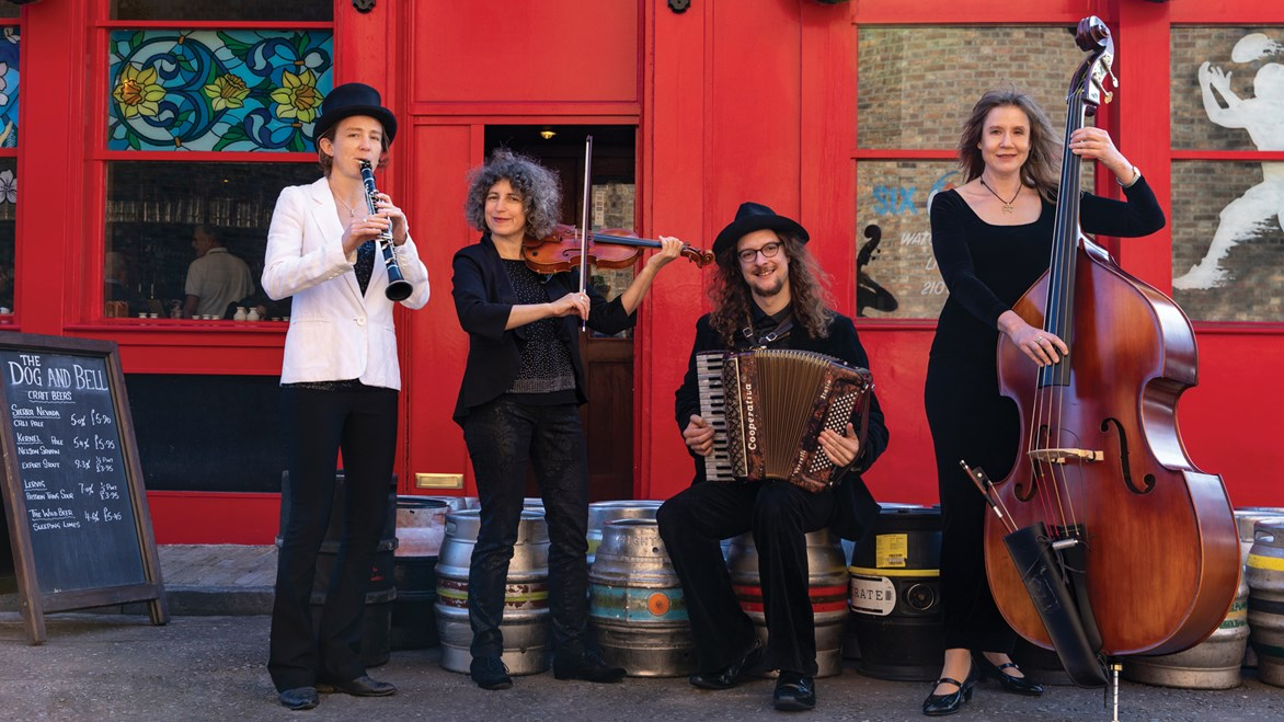 undefinedLKQ London Klezmer Quartet