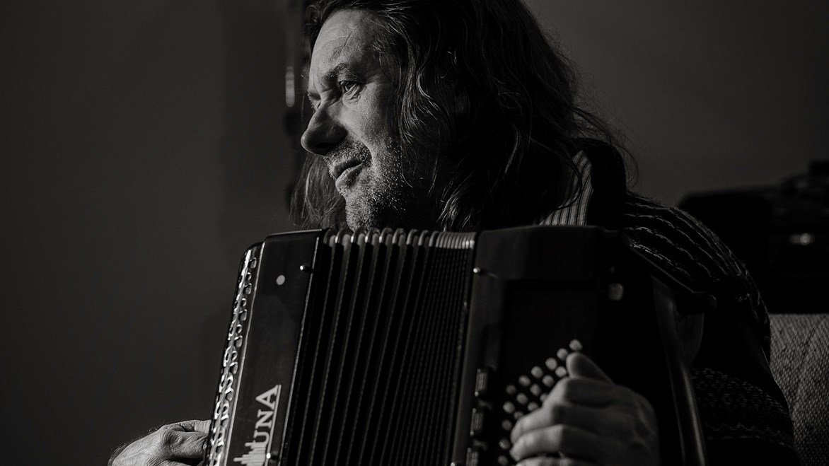 undefinedthe secret accordionist and member of  Belshazzar's Feast